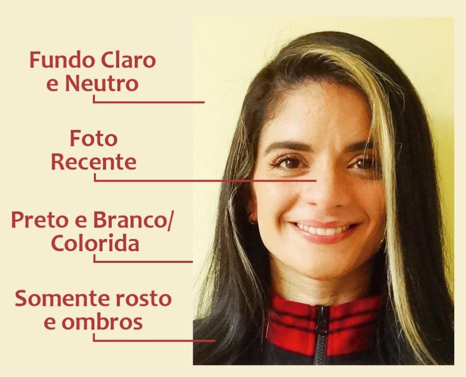Foto 3x4 no Currículo